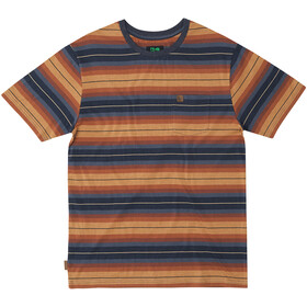Hippy Tree Cold Creek Knit T-Shirt Men heather blue